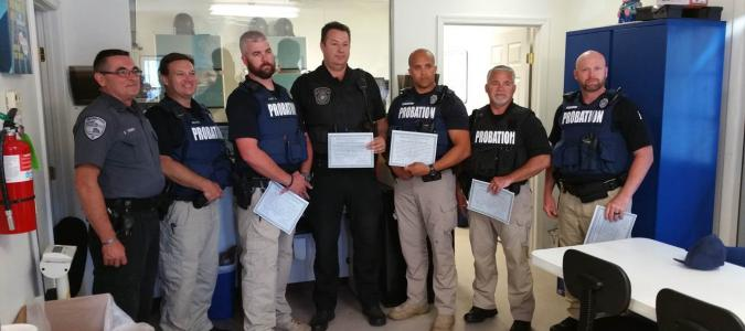 sussex probation officers receive awards for assistance delaware fraternal order of police. Black Bedroom Furniture Sets. Home Design Ideas